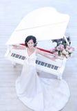 Verticale de femme de mariage Images stock