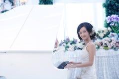 Verticale de femme de mariage image libre de droits