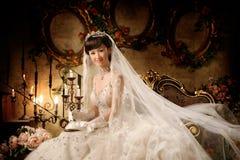 Verticale de femme de mariage Image stock