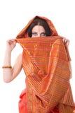 Verticale de femme indienne Image stock