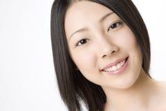 Verticale de femme japonaise images libres de droits