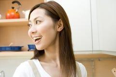 Verticale de femme japonaise Photos libres de droits