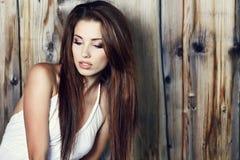Verticale de femme sexy photo stock