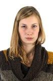 Verticale de fille Photos libres de droits