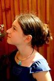 Verticale de fille Photo libre de droits