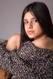 Verticale de fille photographie stock libre de droits