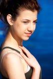 verticale de fille d'adolescent Photos stock