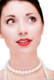 verticale de fille jolie Photographie stock libre de droits