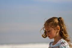 Verticale de fille préscolaire Image stock