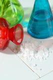 Verticale de flaque de sel Photographie stock libre de droits