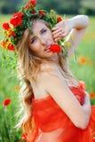 Verticale de fleur Images stock