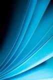 Verticale de fond de papier bleu Photo libre de droits
