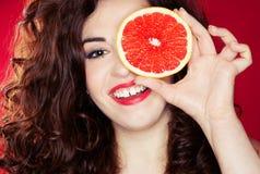 Verticale de fruit Images libres de droits