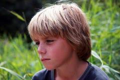 Verticale de garçon Photographie stock libre de droits