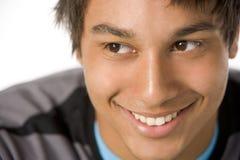 verticale de garçon d'adolescent images libres de droits