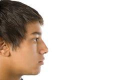 verticale de garçon d'adolescent image stock