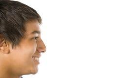 verticale de garçon d'adolescent photographie stock
