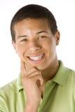 verticale de garçon d'adolescent Images stock