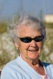 Verticale de grand-mère Images libres de droits