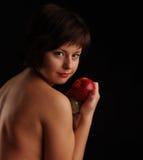 Verticale de jeune fille Photographie stock libre de droits