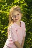 Verticale de jeune fille Photographie stock