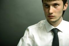 Verticale de jeune gestionnaire de bureau. Image libre de droits