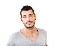 Verticale de jeune homme photo libre de droits