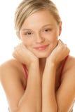 Verticale de jeune jolie femme Image stock