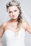 Verticale de jeune mariée Images stock
