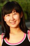 Verticale de jeunes femmes asiatiques Image libre de droits