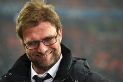 Verticale de Jurgen Klopp Photos stock