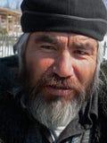 Verticale de l'homme avec la barbe 3 Photos stock