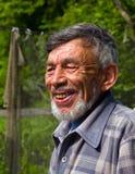 Verticale de l'homme avec la barbe 8. Photographie stock libre de droits