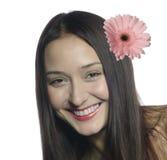 Verticale de la belle femme de sourire #2 Image libre de droits