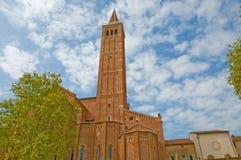Verticale de la cathédrale Images libres de droits