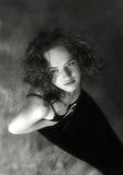 Verticale de la jeune fille Photographie stock
