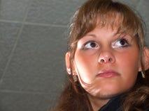 Verticale de la jeune fille Photographie stock libre de droits