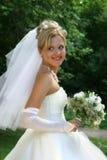 Verticale de la mariée Photo libre de droits
