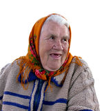 Verticale de la vieille grand-mère Photos stock