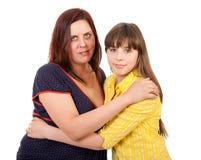 Verticale de mère et de descendant Photographie stock libre de droits