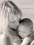 Verticale de mère et de fils Image libre de droits