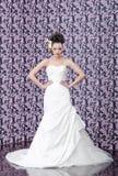 Verticale de mariée Photos stock