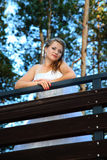 Verticale de mariée Photo stock
