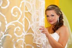 Verticale de mariée Photo libre de droits