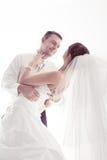 Verticale de marié. Image stock
