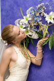 Verticale de mariage Photo libre de droits