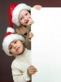 Verticale de Noël Images libres de droits