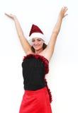 verticale de Noël Image libre de droits