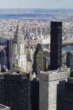 Verticale de NYC Manhattan Chrysler Image stock