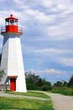 Verticale de paysage de phare Image libre de droits